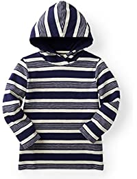 Boys' Hooded Tee Made with Organic Cotton