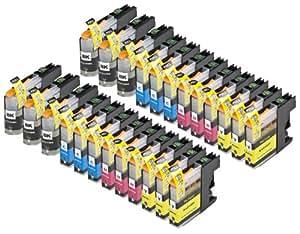 24 Multipack de alta capacidad Brother LC123 Cartuchos Compatibles 6 negro, 6 ciano, 6 magenta, 6 amarillo para Brother DCP-J132W, DCP-J152W, DCP-J172W, DCP-J552DW, DCP-J752DW, DCP-J4110DW, MFC-J245, MFC-J470DW, MFC-J650DW, MFC-J870DW, MFC-J2310, MFC-J2510, MFC-J4410DW, MFC-J4510DW, MFC-J4610DW, MFC-J4710DW, MFC-J6520DW, MFC-J6720DW, MFC-J6920DW. Cartucho de tinta . LC123BK , LC123C , LC123M , LC123Y © 123 Cartucho