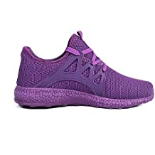 Feetmat Womens Sneakers Ultra Lightweight Breathable Mesh Athletic Running Shoes Plus Size