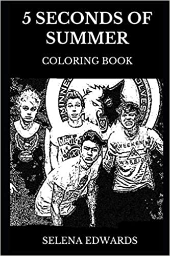 5 Seconds of Summer Coloring Book: Famous Pop Rock Band and
