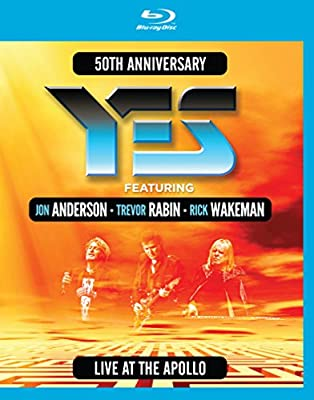 Yes featuring Anderson, Rabin, Wakeman - Live At The Apollo [Blu-ray]