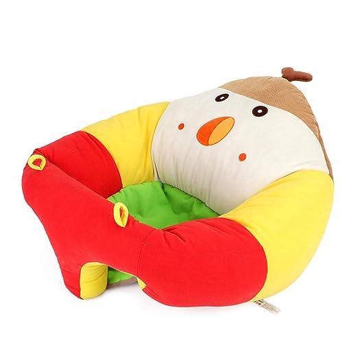 KEKEDA Asiento de Apoyo para bebé, sofá de bebé para Aprender a Sentarse, Silla de Lactancia Segura para Sentarse y Alimentar el sofá, Juguetes de ...