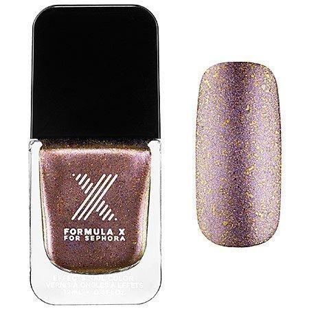 Shifters Nail Polish Formula X for Sephora 0.4 Oz Heroic - Lilac and Gold Metallic