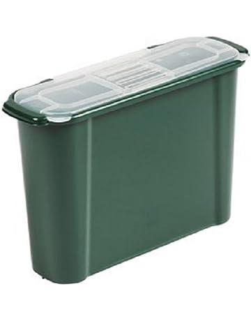 9 litros Slim cocina Compost Bin – Estante bajo fregadero desperdicio de alimentos contenedor con filtro