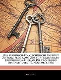 Das Ständisch-Polytechnische Institut Zu Prag, Karl Jelinek, 1144699975