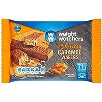 Weight Watchers Chewy Caramel Wafers - 5 x 16g