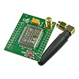 Aideepen A6 GPRS Module GSM Module Adapter Speech Board Plate Quad-band for Wireless Data Transmission 850MHZ 900MHZ 800MHZ 1900MHZ with Antenna