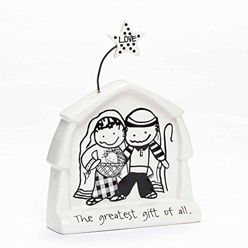 Enesco Children of The Inner Light Season of Love Nativity Figurine 6.5 In by Enesco