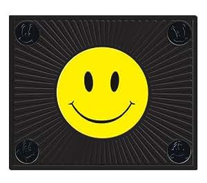 "Plasticolor Happy Face Molded 14"" x 17"" Utility Mat"