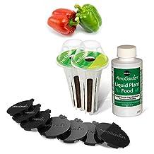 Miracle-Gro AeroGarden Sweet Bell Peppers Seed Pod Kit (Tall Gardens 7-Pod/9-Pod)