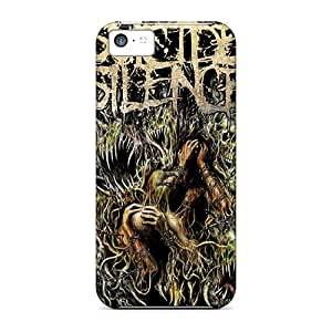 New Premium Flip Case Cover Suicide Silence Skin Case For Iphone 5c