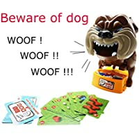 Tonor Be Ware of Barking Dog Bones Card Toy Board Game