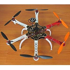 Hobbypower DIY F550 Hexacopter Kit with APM2.8 Flight Controller NEO-7M GPS 920KV Brushless Motor Simonk 30A ESC 1045 Props from Hobbypower