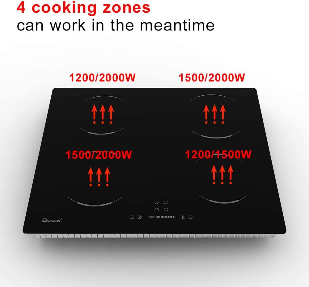 GIONIEN Electric Cooktop Induction Stove