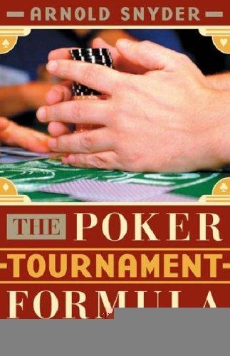 Read Online The Poker Tournament Formula pdf epub