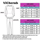 Womens Thermal Underwear Set Long Johns with Fleece