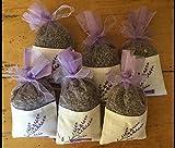 Sanrich 50PCS Lavender Sachet Bags Empty Purple