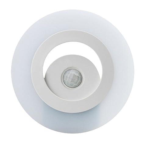 skitic batteriebetriebenes Luz nocturna LED Lámpara de noche con detector de movimiento para dormitorio, vestíbulos