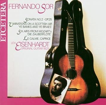 Amazon Com Fernando Sor Music For Guitar Music
