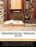 Abhandlungen, Volume 24, Preussische Geologische Landesanstalt, 1145245056