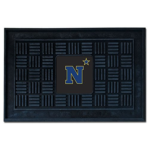 Fanmats 20617 U.S. Naval Academy Door Mat, Team Color, 19.5