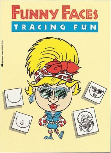 Funny Faces Tracing Fun by Scholastic (Image #1)