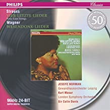 Strauss: Four Last Songs/Wagner: Wesendonck-Lieder