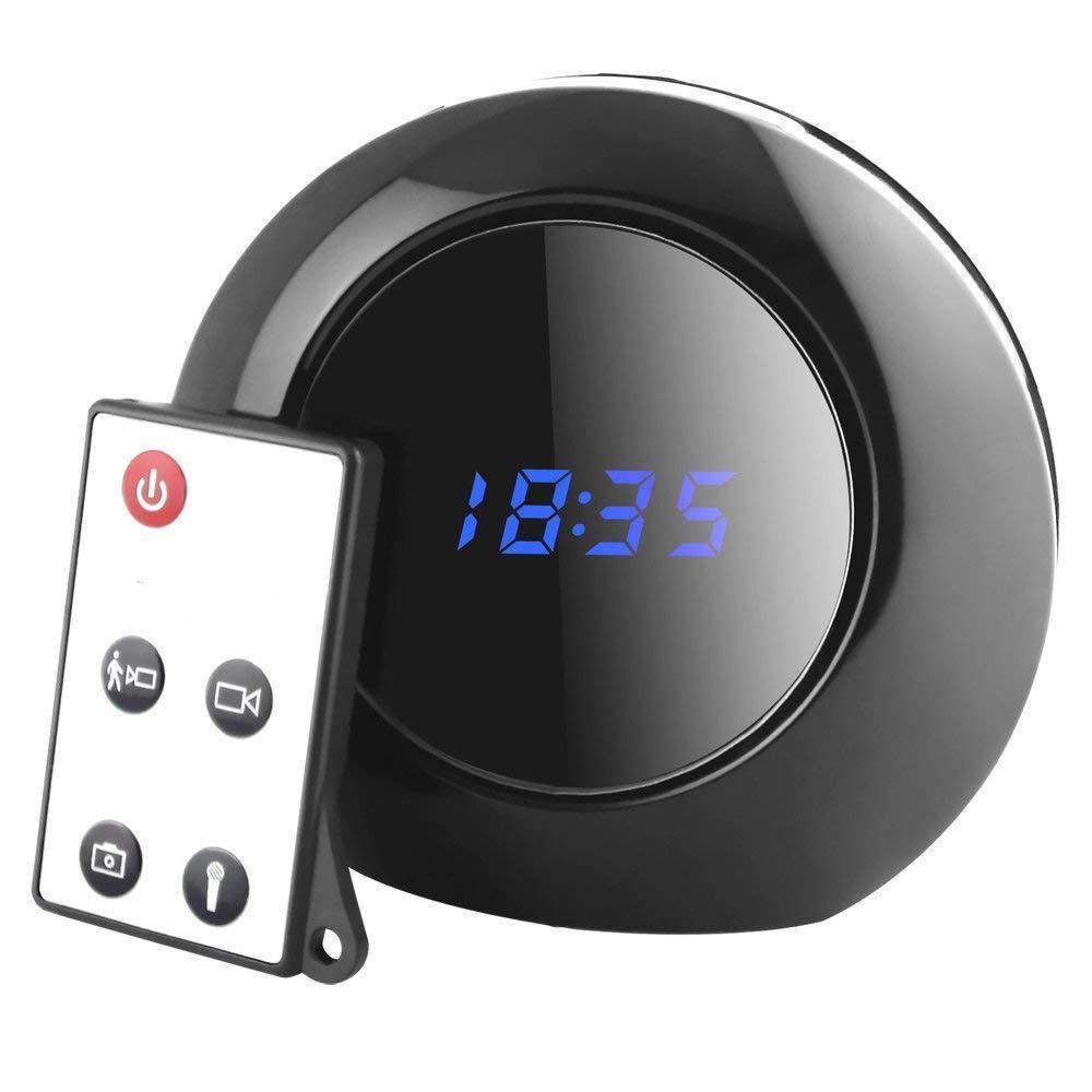 Mengshen Mini 1280x960 HD Detección de Movimiento espía Despertador ocultado Cámara videocámara 140 ° Ángulo de visión 30fps Detección de Movimiento MS-V8: ...