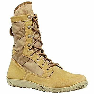 Belleville 101 Tactical Research Mini-Mil Athletic Tan Boot, 7.5