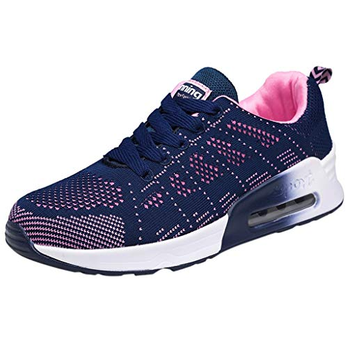 - Running Shoes for Women, ✔ Hypothesis_X ☎ Mesh Breathable Shoes Running Walking Lightweight Sneakers Blue