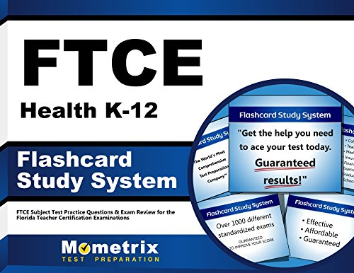 FTCE Health K-12 Flashcard Study System: FTCE Test Practice Questions & Exam Review for the Florida Teacher Certification Examinations (Cards)