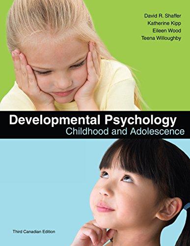 Developmental Psychology - Childhood & Adolescence (8th, 10) by Shaffer, David R - Kipp, Katherine [Hardcover (2009)]
