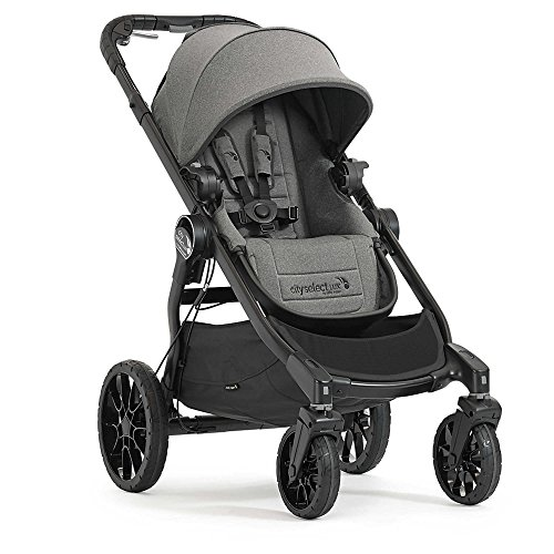Baby Jogger 2017 City Select LUX Stroller in Ash