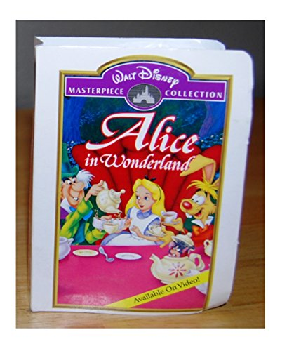 Alice In Wonderland Action Figure - 1995 McDonald's Walt Disney Masterpiece Collection Series