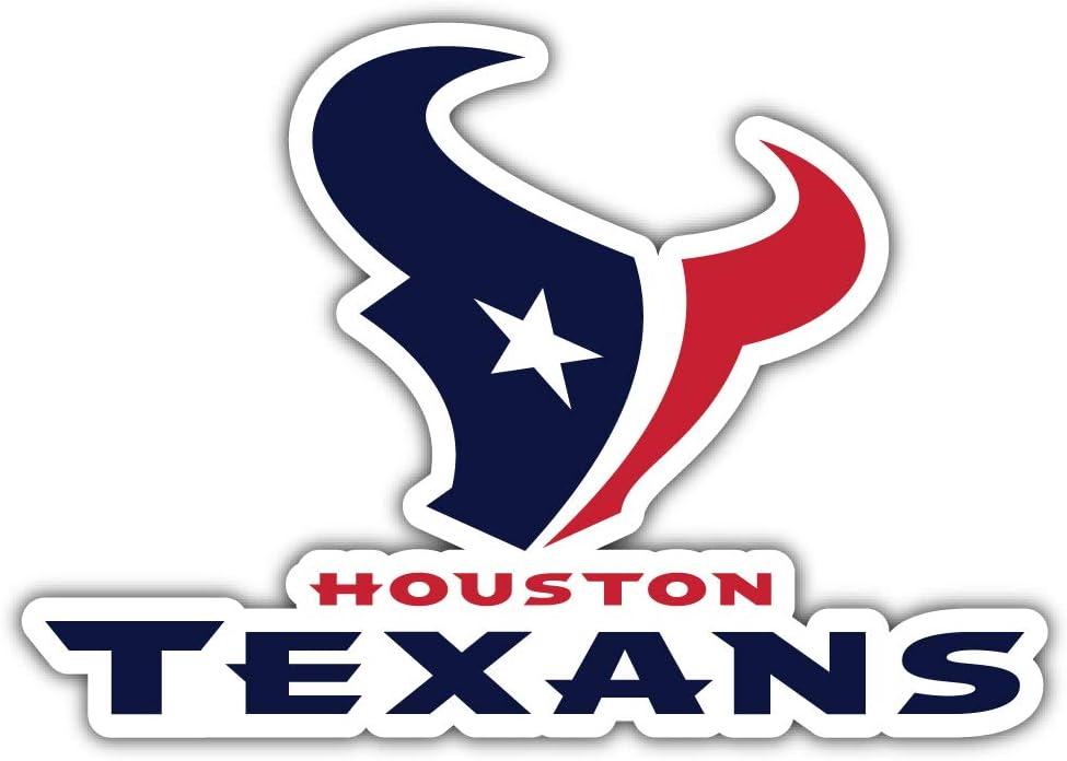 hotprint Texans Football Houston Sport Car Bumper Sticker Decal 5 X 3