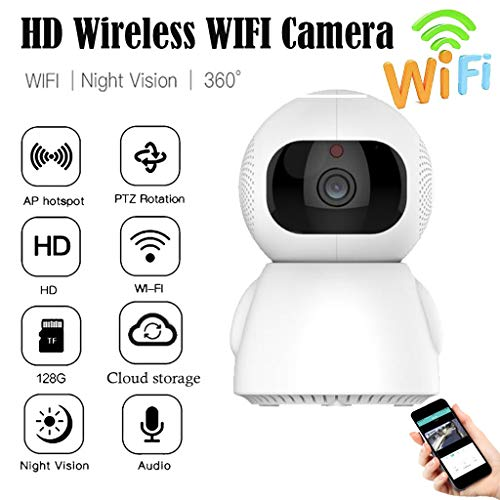 Little Story HD Cloud Storage Camera Surveillance WiFi Security Night Vision Two Way Audio US