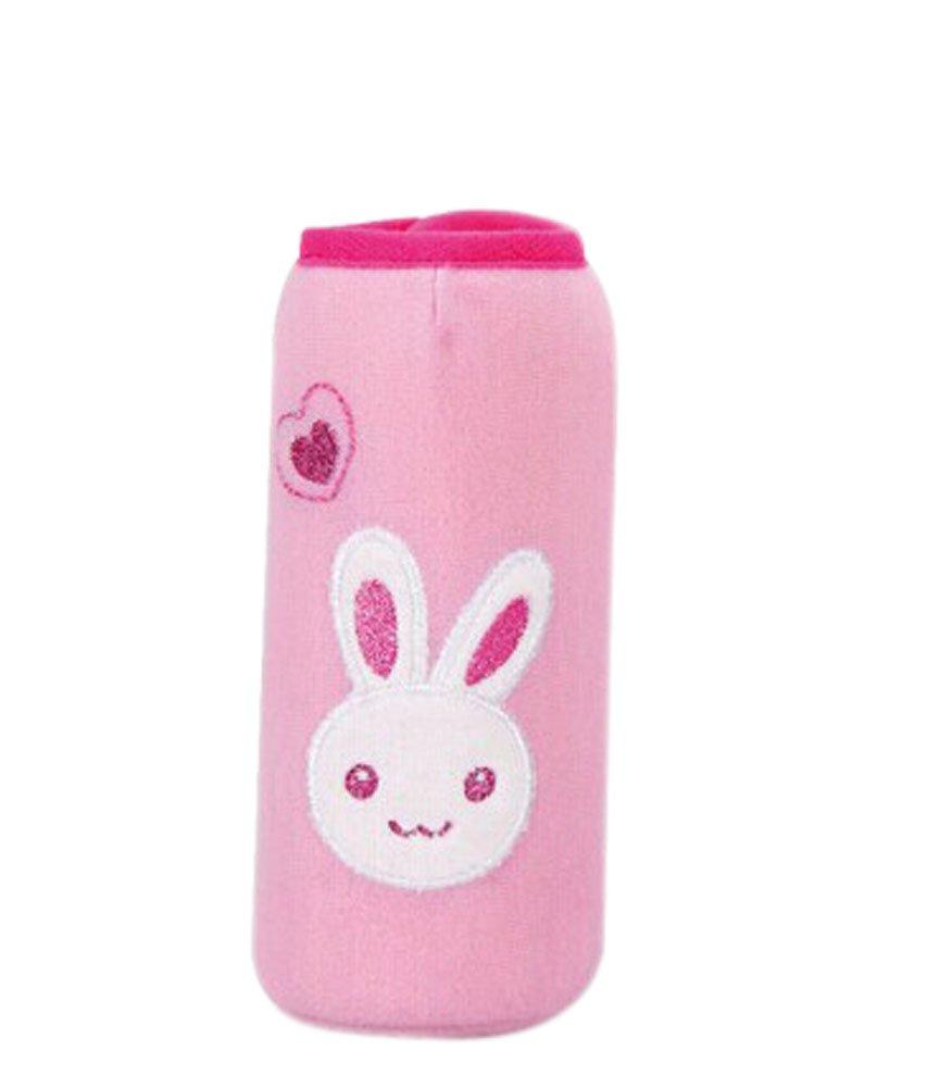Feeder Milk Bottle Deading Warm Keep Pretecter Bag (15*4.5CM)/Pink Rabbit Panda Superstore