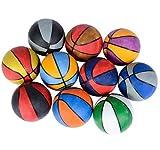 Mini 5' Assorted Multi-Color Rubber Basketballs (5-Pack)