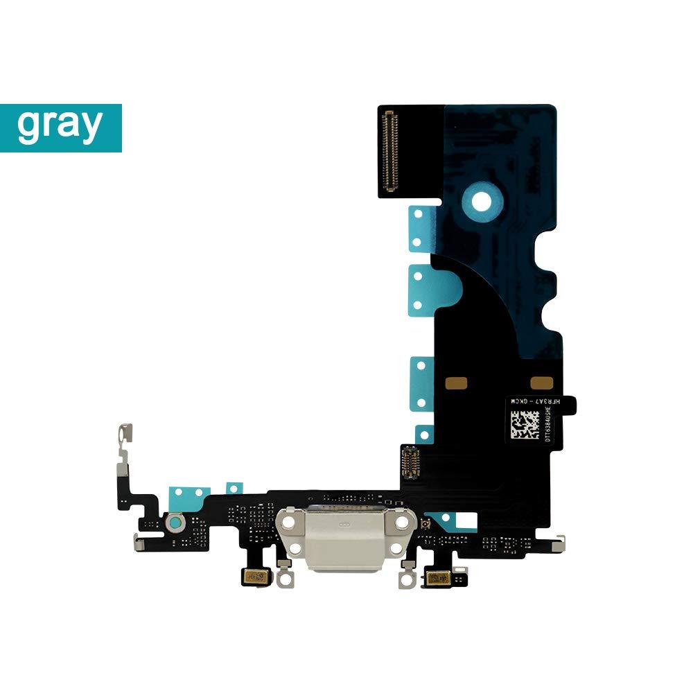 Puerto de Carga para iPhone 8 Gray