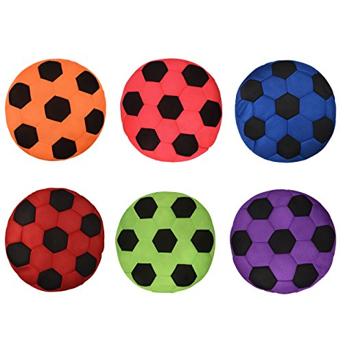 Bintiva Cushioned Spot Markers - Set of 6 Washable Seating Cues in Bright Colors - Large 14'' Diameter by bintiva (Image #2)