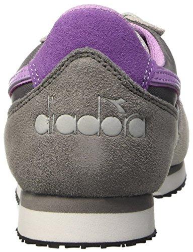 W Diadora Gris Sneaker run Femme Basses Aluminium K 75040 Raqag