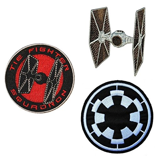 Star Wars The Empire Logo and Tie Fighter Variet 3 Pack Gift
