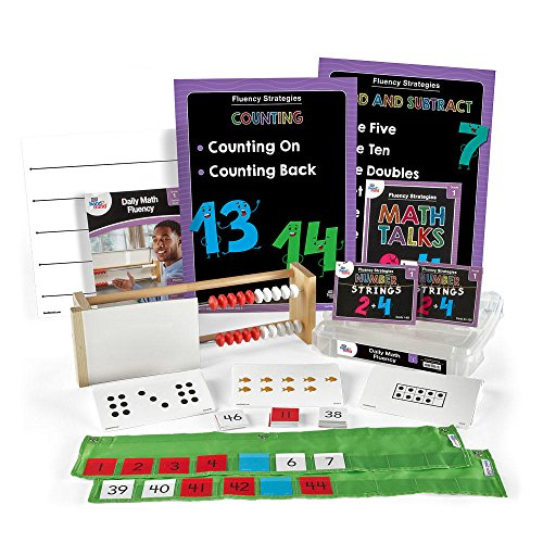 Daily Math Fluency Kit for Kids (Grade 1+) - Use Doubles, Get to Ten, Use Known Facts, and Much More | Develop Numeracy and Mathematical Relationships| Math Fluency Strategies