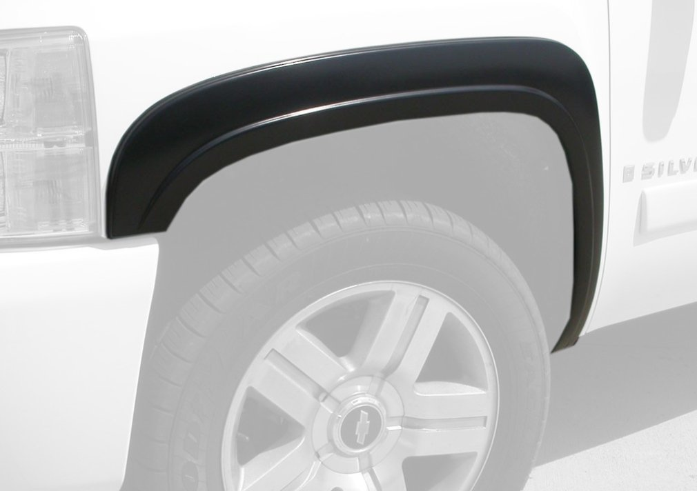 Monkey Autosports Factory/OE Style Fender Flares for 2007-2013 Chevrolet Silverado. Set of 4 (Short Bed (5'8'') Models)