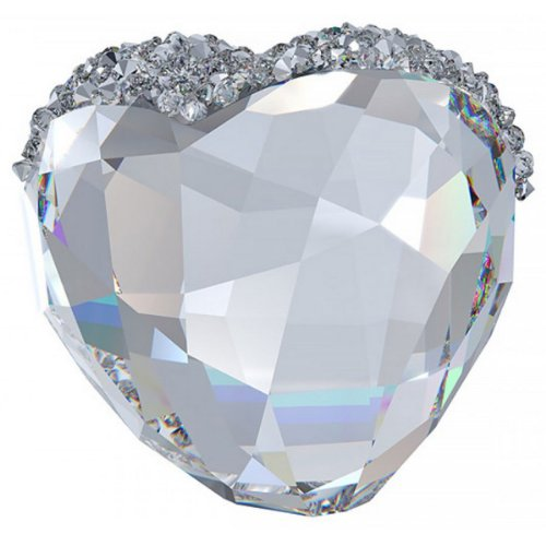 Swarovski Love Heart Crystal Figurine, Medium