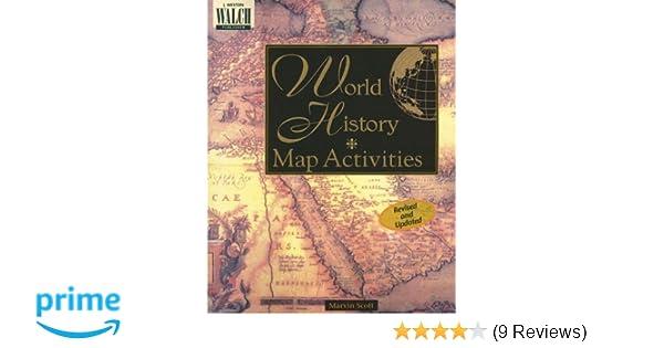 World History Map Activities: Marvin Scott: 9780825128806 ...