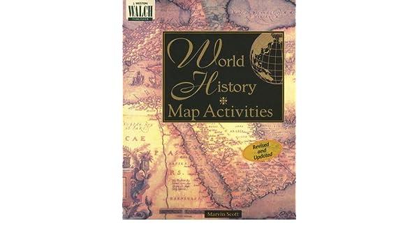 World history map activities marvin scott 9780825128806 books world history map activities marvin scott 9780825128806 books amazon gumiabroncs Images