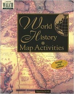 World History Map Activities: Marvin Scott: 9780825128806: Amazon ...