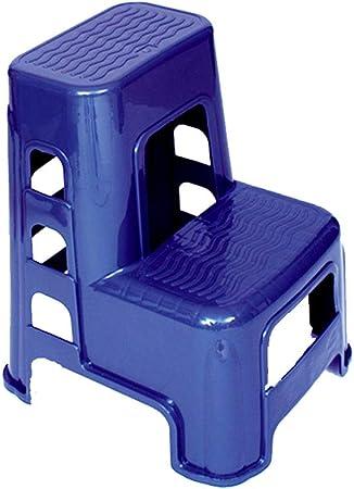 Taburete de Escalera de 2 escalones Taburete Antideslizante de plástico Taburete de Coche Taburete de Pedal: Amazon.es: Hogar