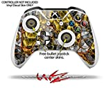 Lizard Skin - Decal Style Skin Set fits XBOX One S Console and 2 Controllers (XBOX SYSTEM SOLD SEPARATELY)